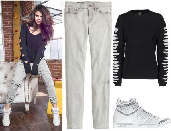 """Get The Look : Selena Gomez"" by mfalk on Polyvore"