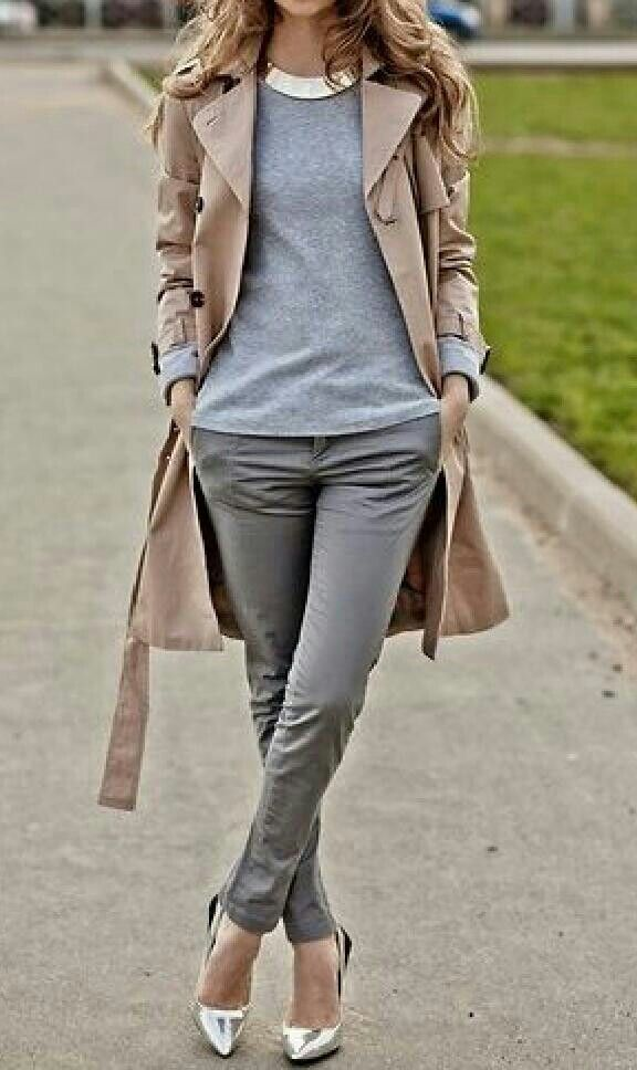 Simple and chic work outfit