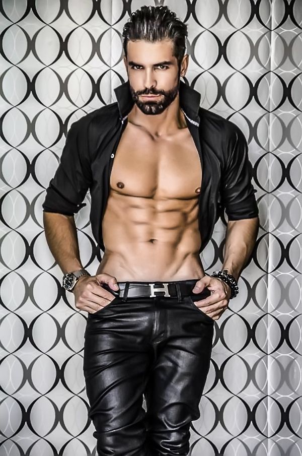 Gay latin leather