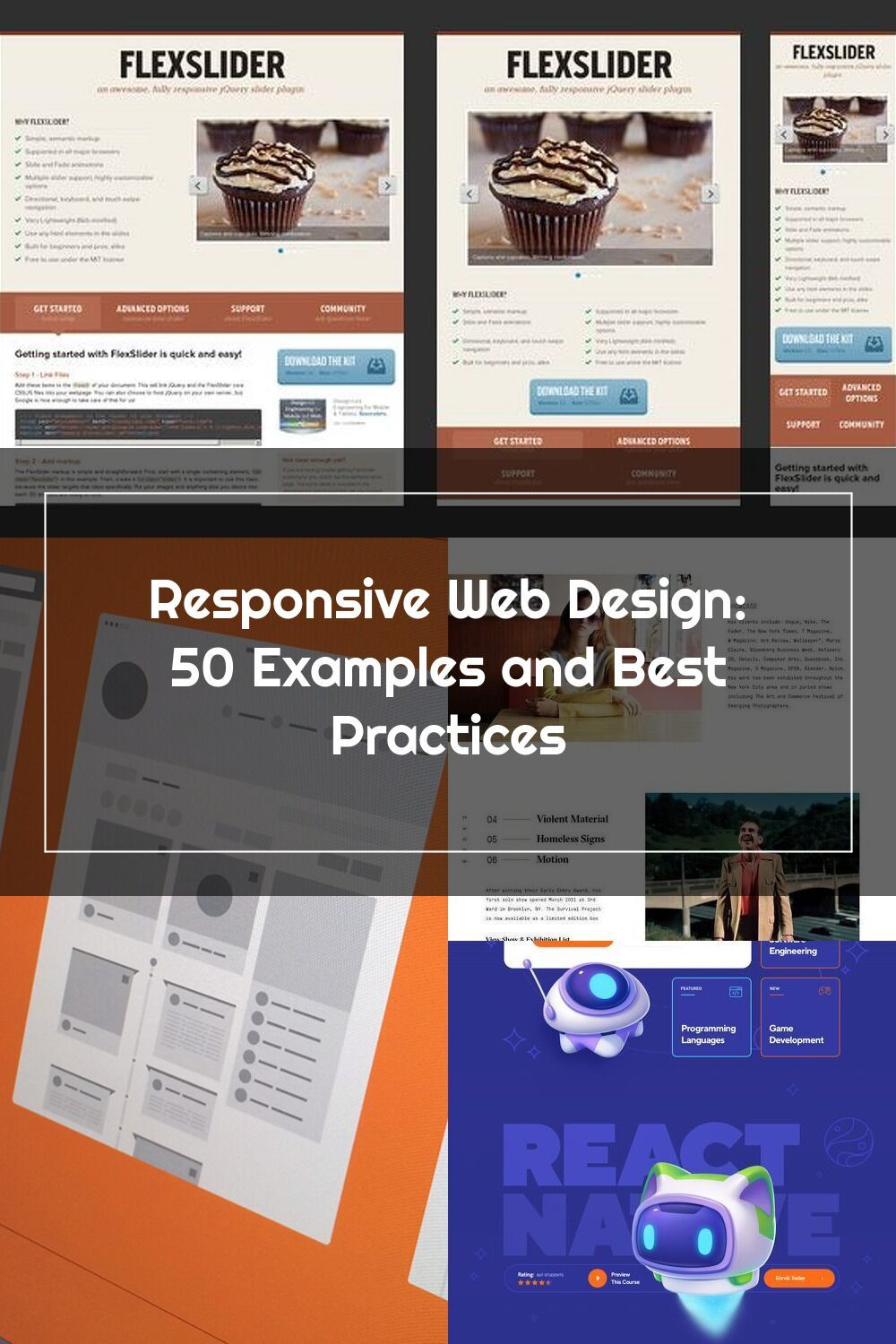 Responsive Web Design 50 Examples And Best Practices In 2020 Responsive Web Design Web Design Design