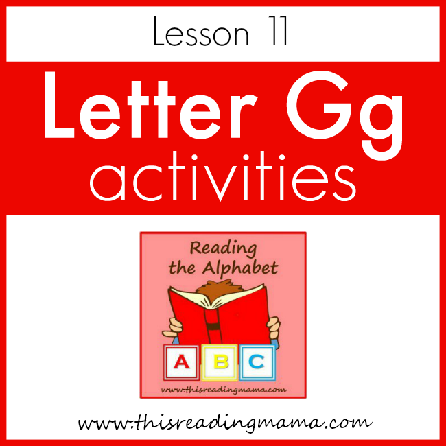 Reading the Alphabet: a FREE PreK Reading Curriculum ...