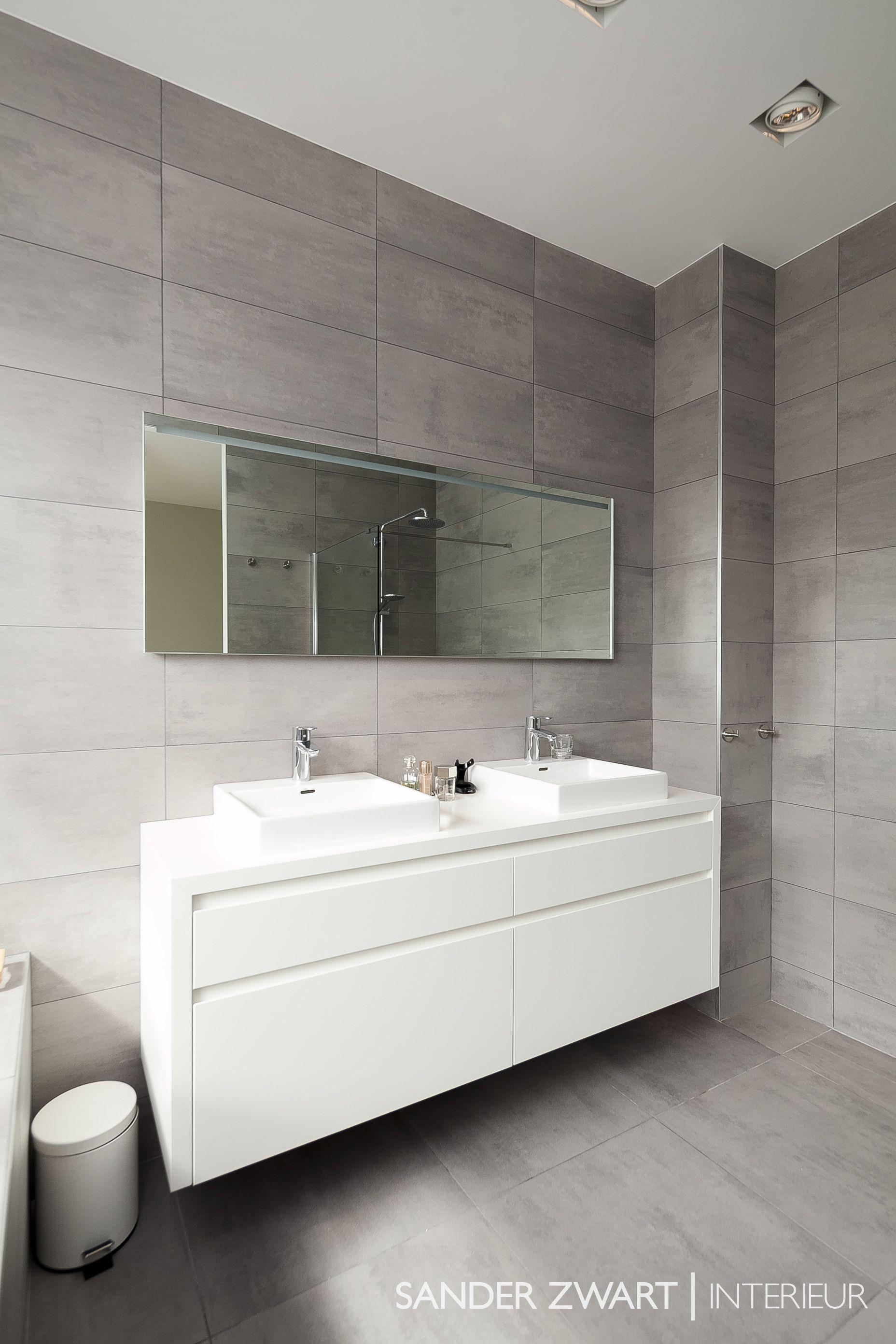 badkamermeubel op maat sander zwart interieur