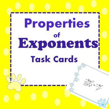 Properties Of Exponents Algebra 2