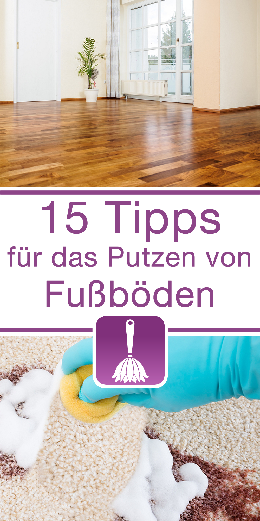 15 tipps tricks f r das putzen von fu b den laminat. Black Bedroom Furniture Sets. Home Design Ideas