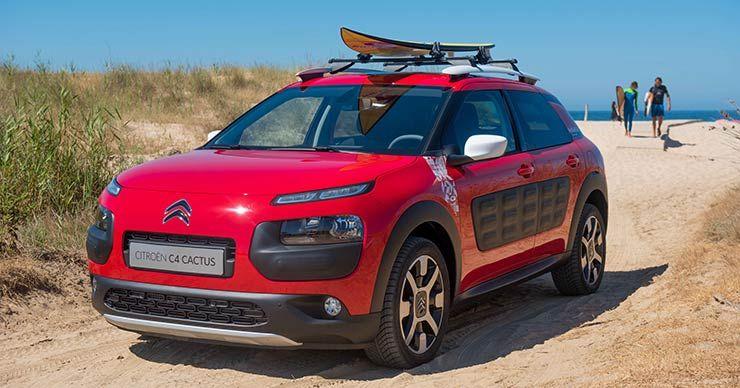 Citroën C4 Cactus Rip Curl Un Crossover Nacido Para La Aventura Y El Surf