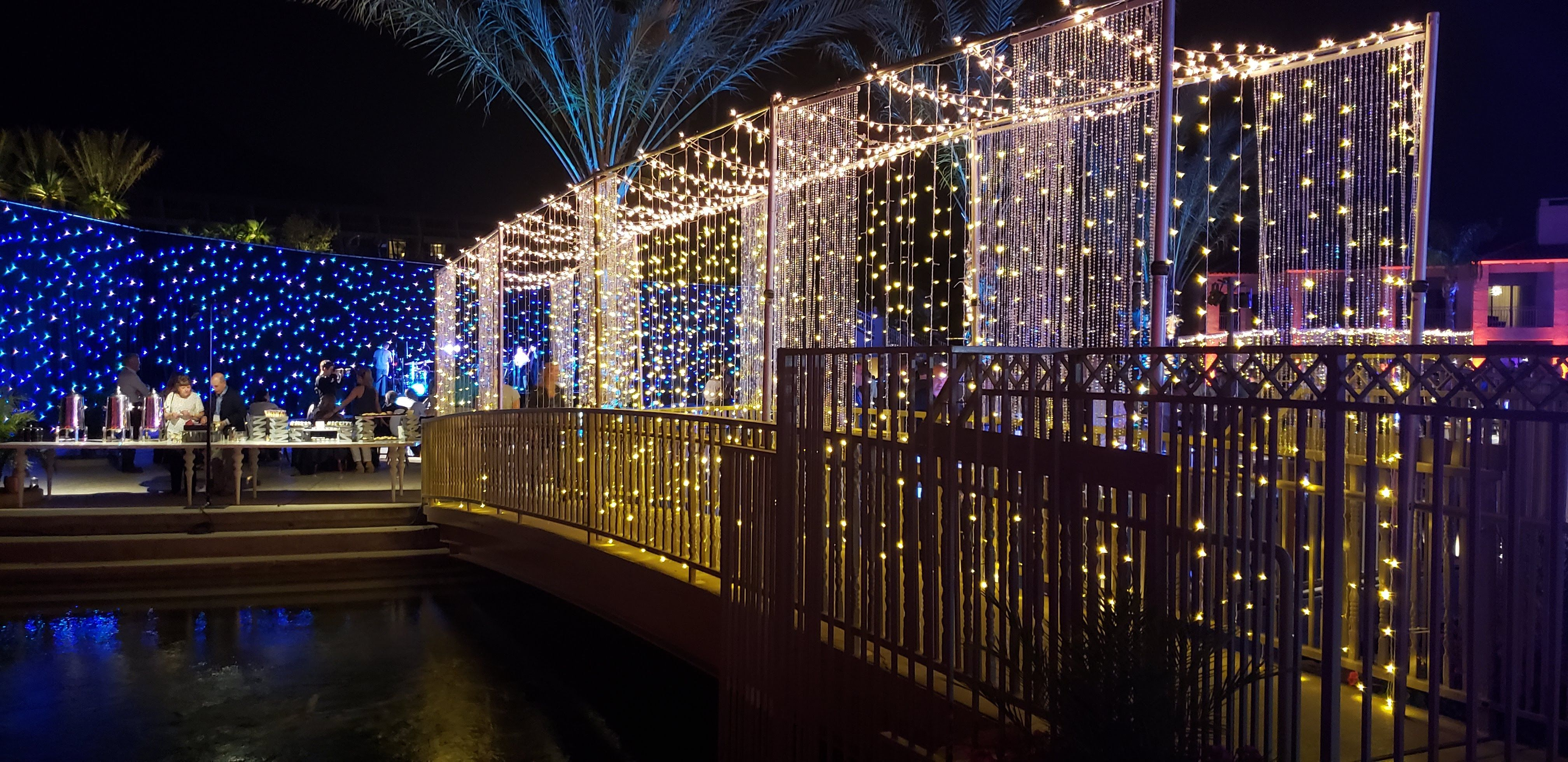 Fiber Optic Drape And Twinkle Light Curtains Drape Lighting Design Decor Event Curtain Lights Event Marketing Event Twinkle Lights