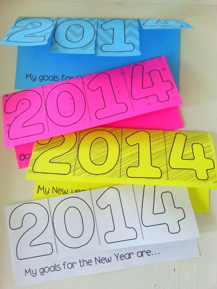 New Year's Resolution 2020 &2021 Tab Book New years