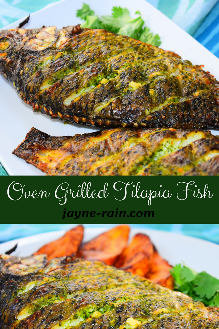 Oven Grilled Tilapia Fish Recipe Jayne Rain Recipe Grilled Fish Recipes Grilled Tilapia Tilapia Fish Recipes