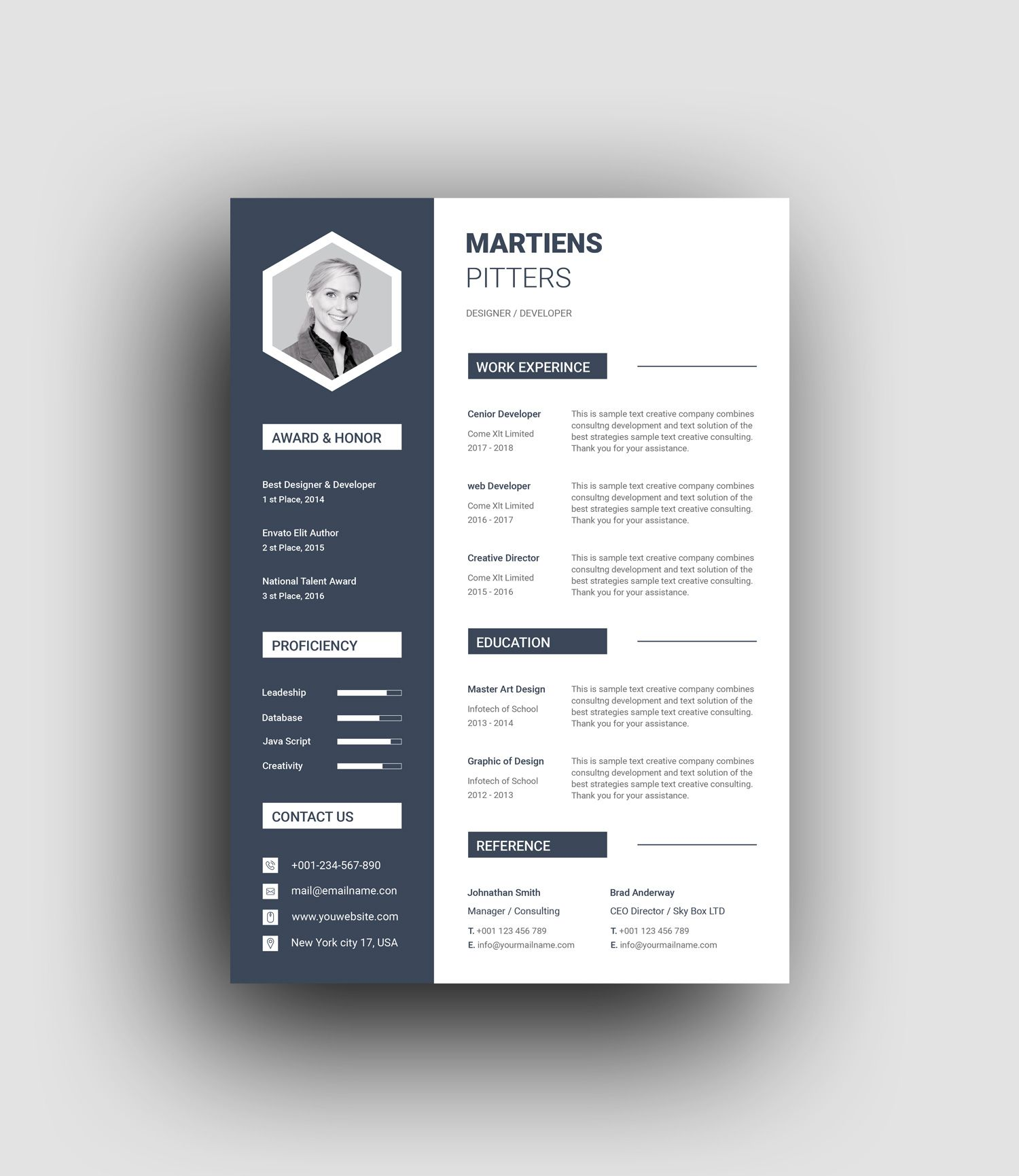 Many use microsoft word to get the job done, but if you don't have it (or can't afford it because. Zeus Modern Professional Resume Template Graphic Templates Resume Template Professional Resume Design Template Resume Template