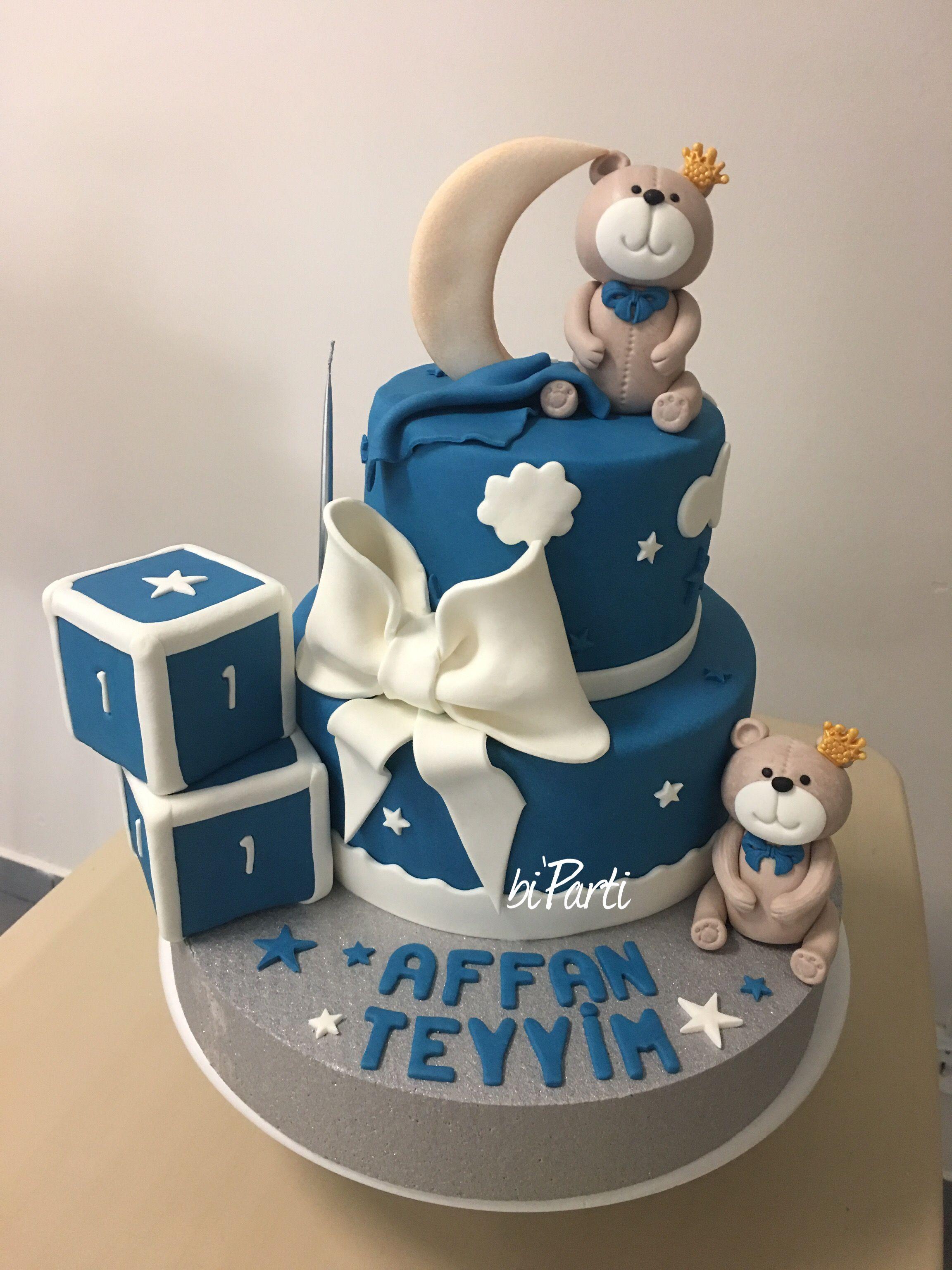 Teddy cake Teddy bear cake Teddy party Teddy bear party ideas