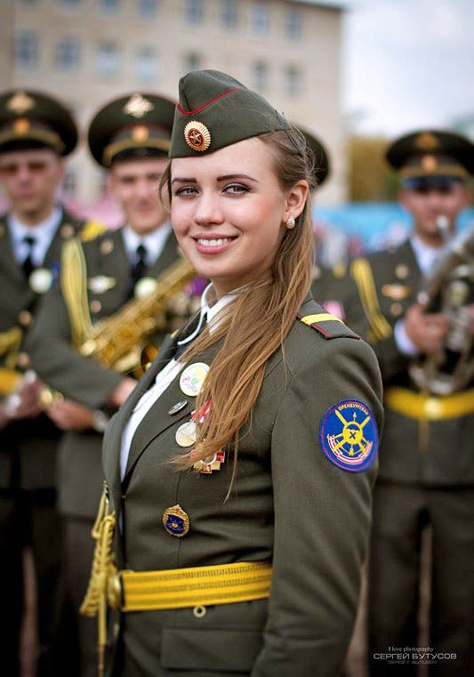 Woman Army Russian