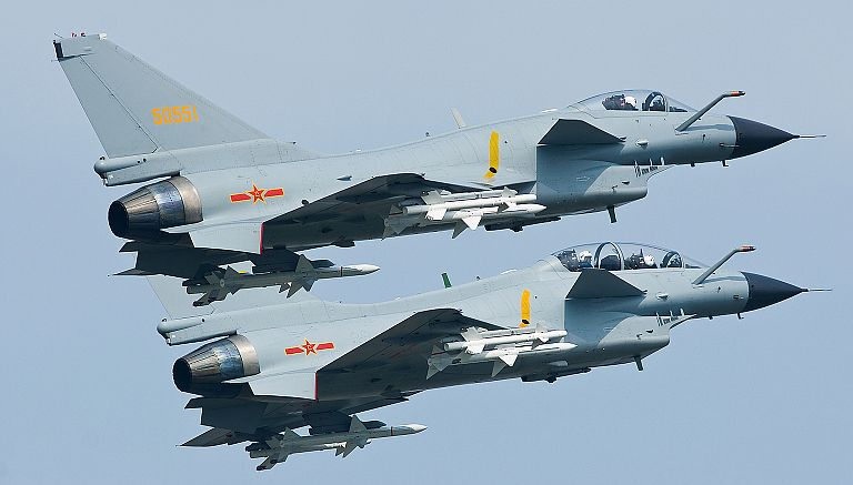 Chengdu J-10A and J-10S