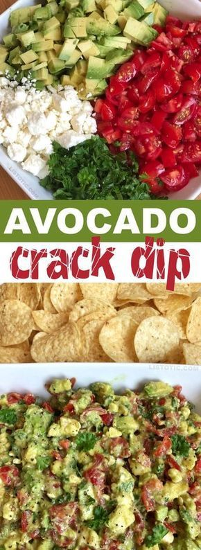 Avocado Crack Dip images