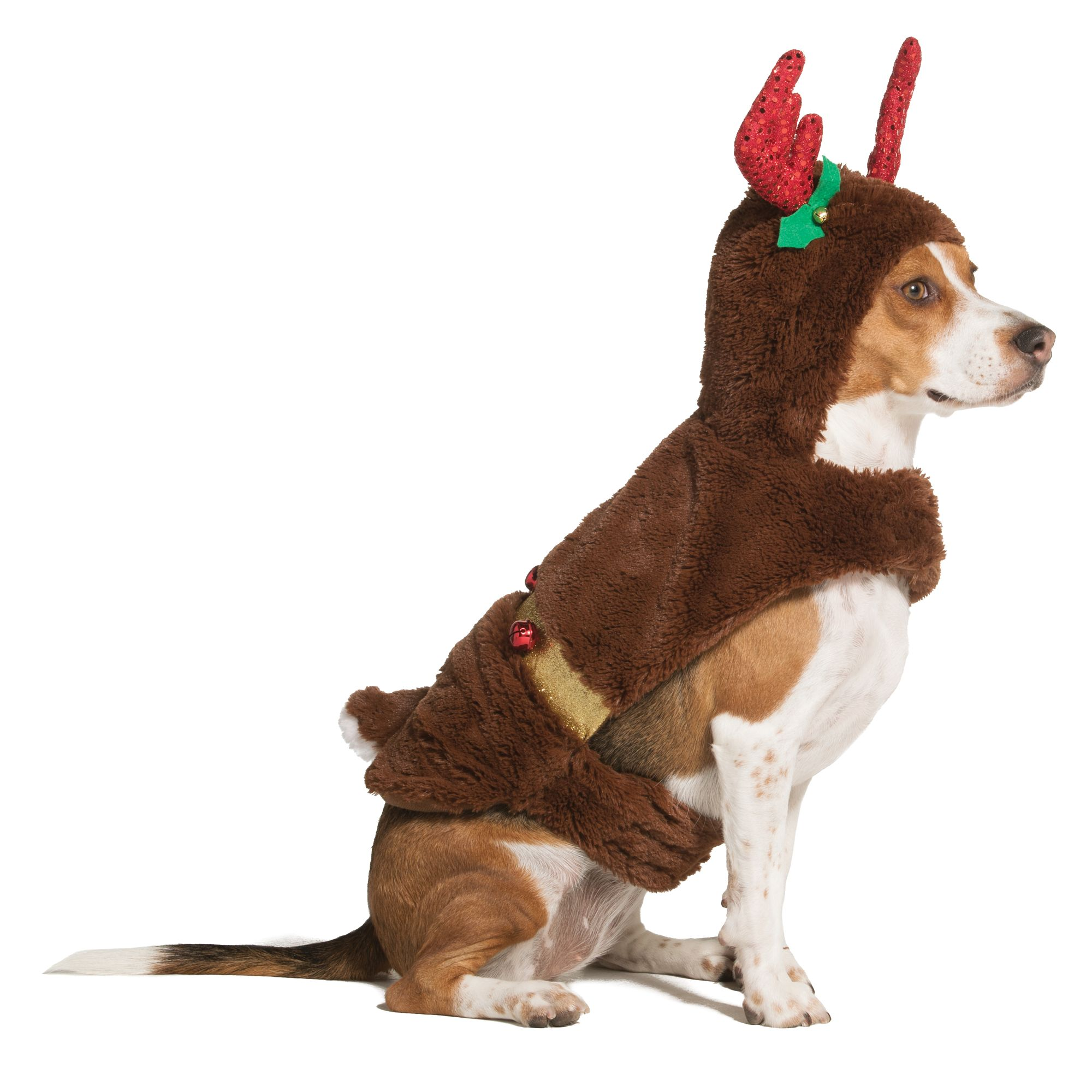 Merry And Bright Holiday Reindeer Pet Costume Size X Small Pet