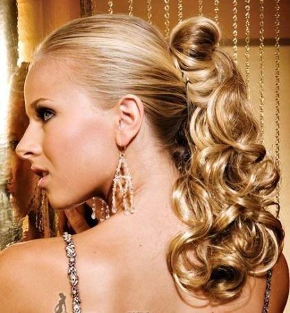 peinados medio recogidos - Google Search Peinados Pinterest
