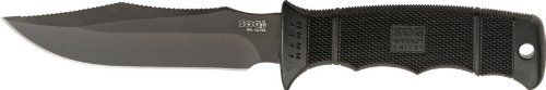 SOG Specialty Knives & Tools E37SN-CP Seal Pup Elite Knife with Straight Edge Fixed 4.85-Inch Steel Blade and GRN Handle, Black TiNi Finish SOG Specialty Knives http://www.amazon.com/dp/B001C2LGPI/ref=cm_sw_r_pi_dp_eDq6vb0RAXDKH
