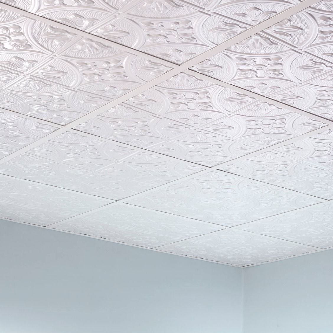 Get The Classic Look Of Traditional Tin Ceilings For A Fraction Of