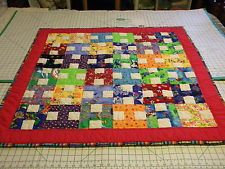 Handmade Happy H Baby Quilt
