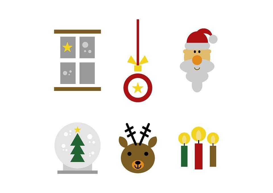 Weihnachten Clipart Set Kostenlose Grafiken Wochenplan Zum Ausdrucken Clipart