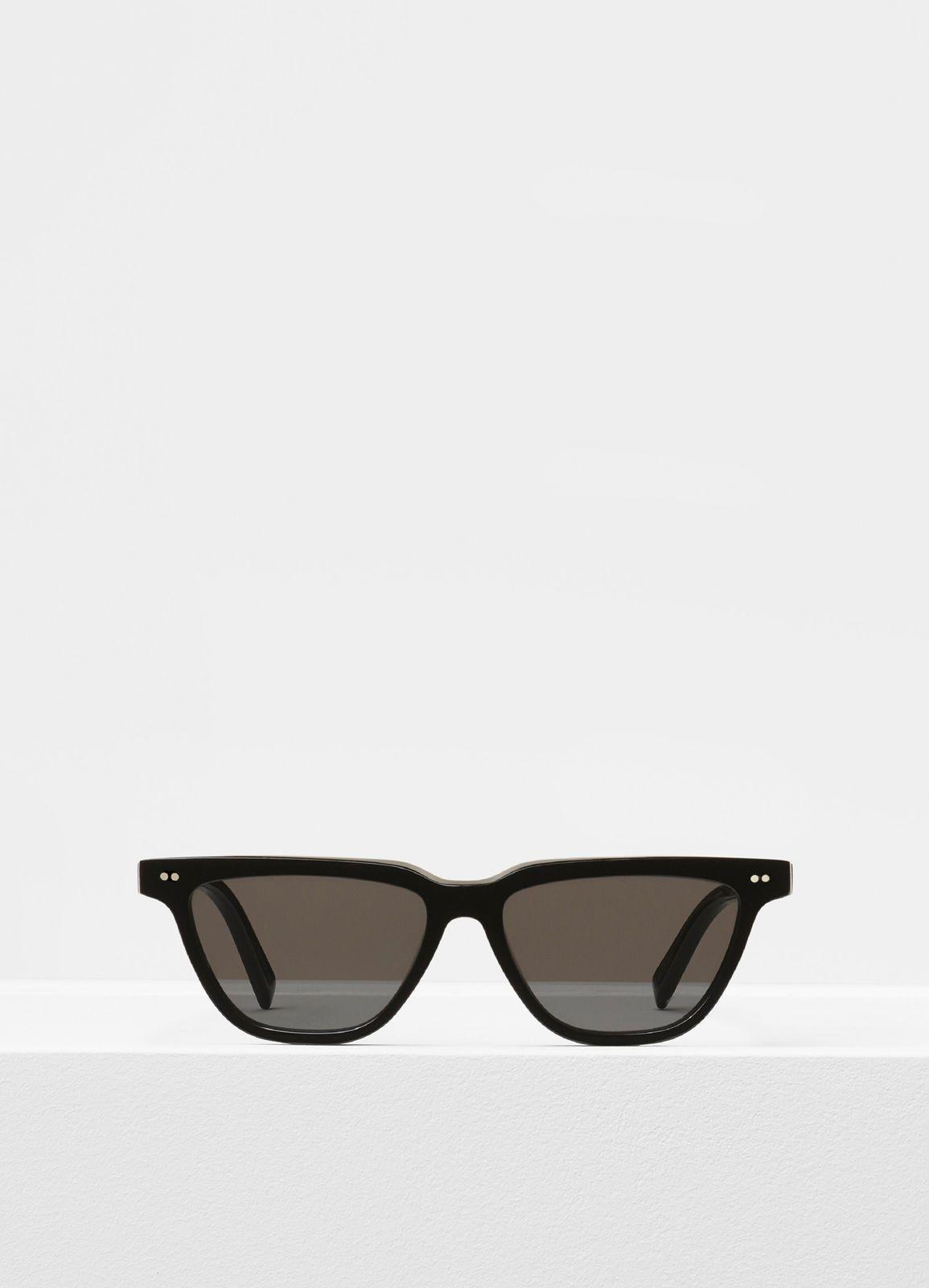 ae2f9a3ea9f5 Rectangular sunglasses in acetate - Sunglasses | CÉLINE | Attention ...