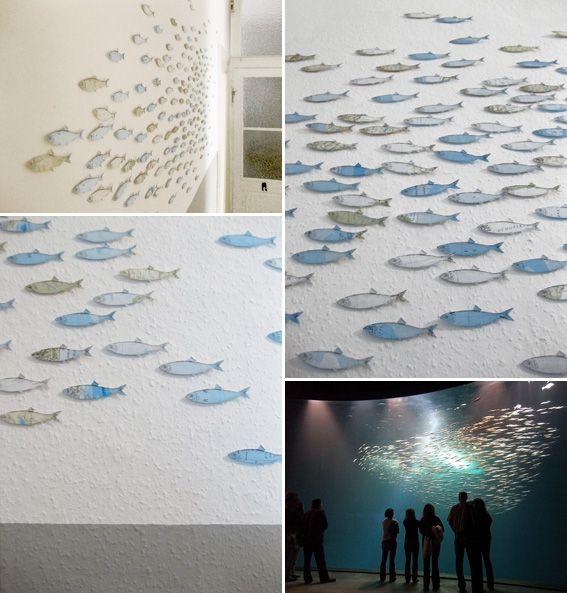 Wall Fish Kreativ Upcycling Und Fische
