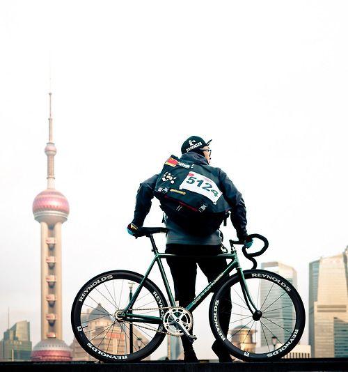 bisikleta: Cannondale / Bund Shanghai