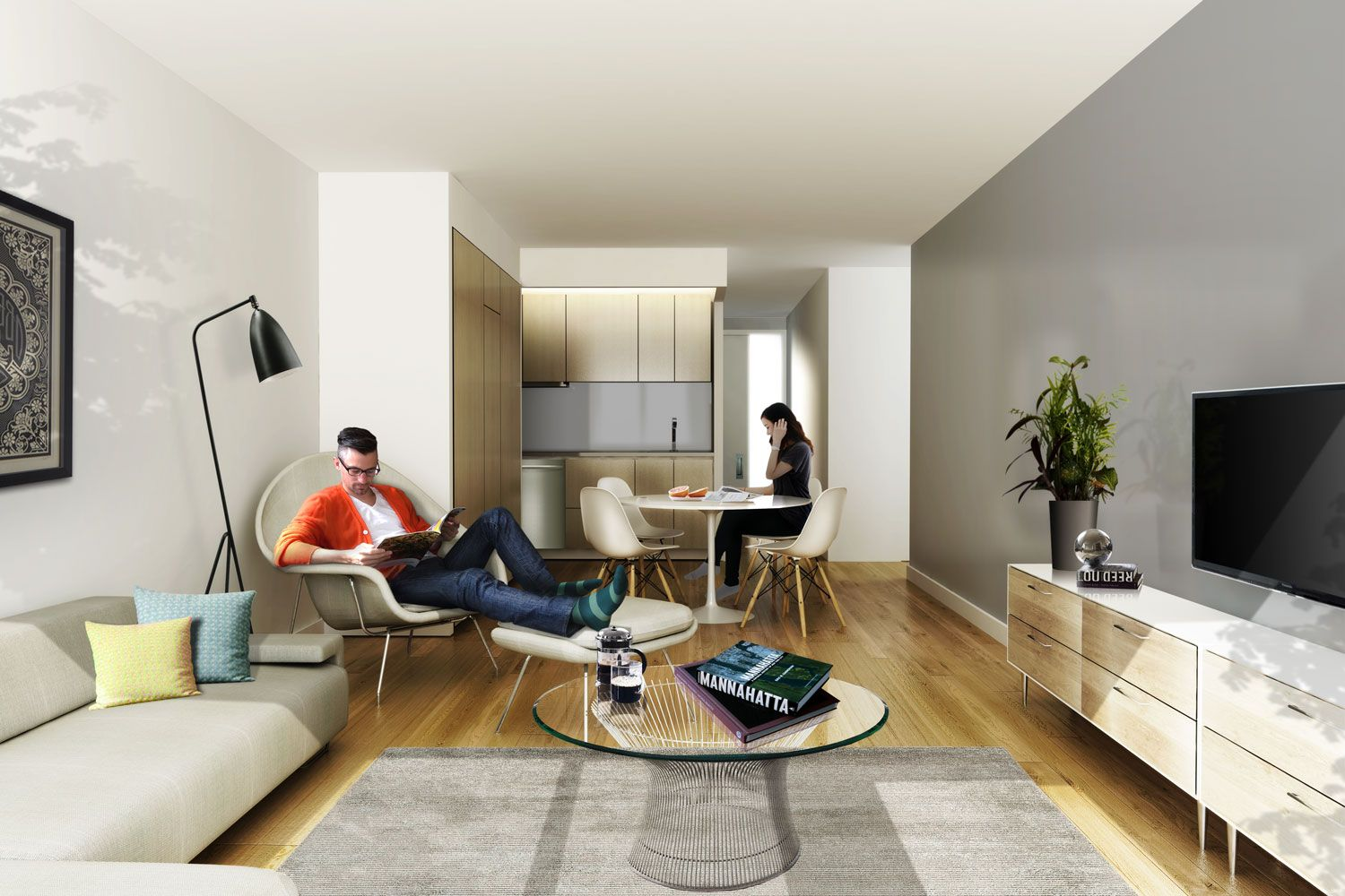Apartment Rendering NYC Apartments Chelsea UnionSquare