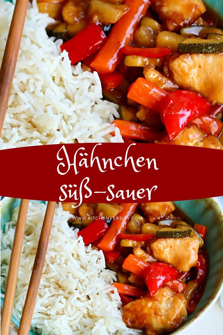 Asia Soulfood- HÜHNCHEN SÜß-SAUER