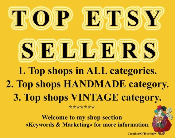 Top sellers Top selling Etsy shops Most popular shops Best selling Etsy stores Best…