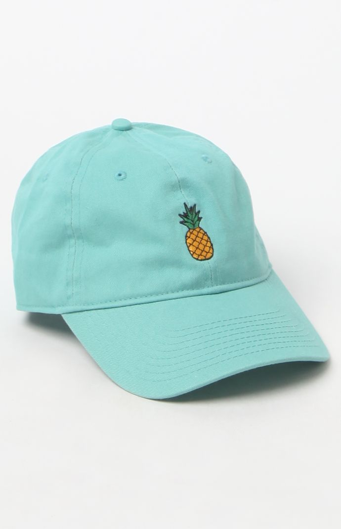 Pineapple Strapback Dad Hat  5521a07c0425