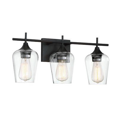 Photo of Hickerson 3-light dimmable basin light