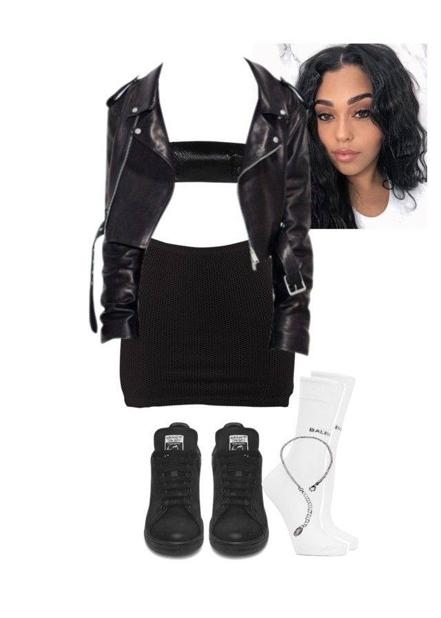 """Untitled #1739"" by elinaxblack on Polyvore featuring Maison Margiela and Balenciaga"
