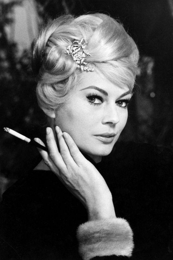 Anita Ekberg's hair! *1960s hair inspiration *