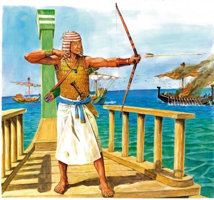 Egyptian Archer Egypte Ancienne Egypte Antique Egypte