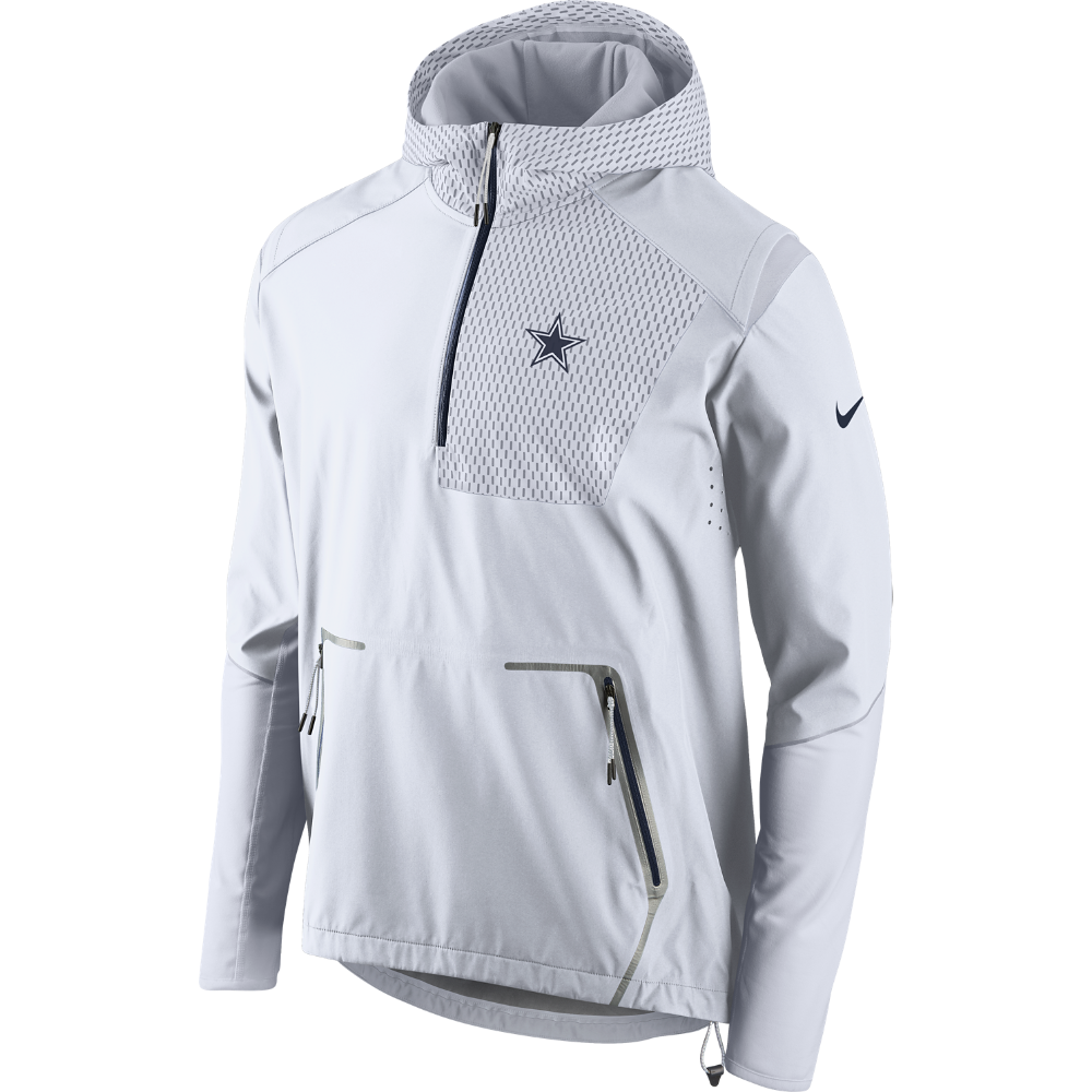 5a977a3dcfcc Nike Vapor Speed Fly Rush Flash (NFL Cowboys) Men s Training Jacket Size XL  (White) - Clearance Sale