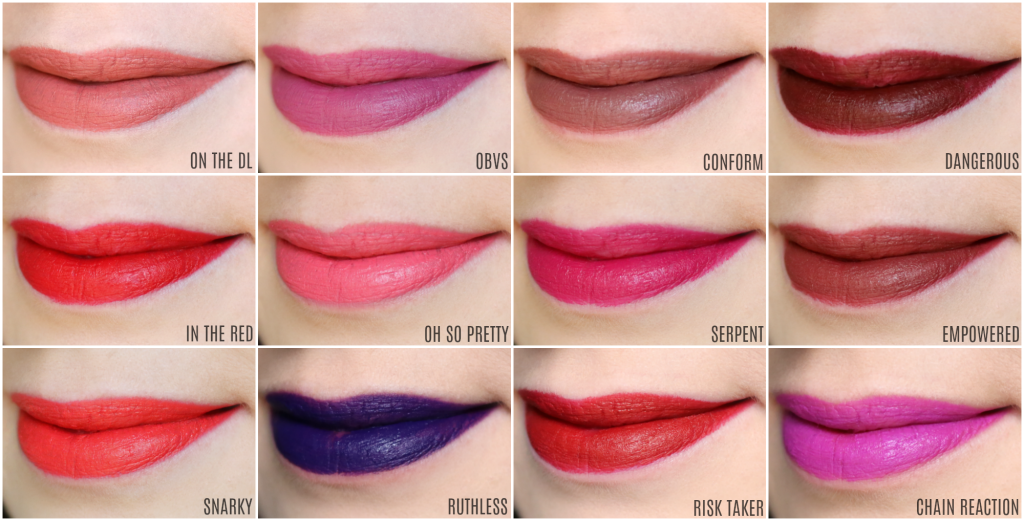 17a62adfb6b45 NYX Super Cliquey Matte Lipsticks | The Feminine Files Reviews ...