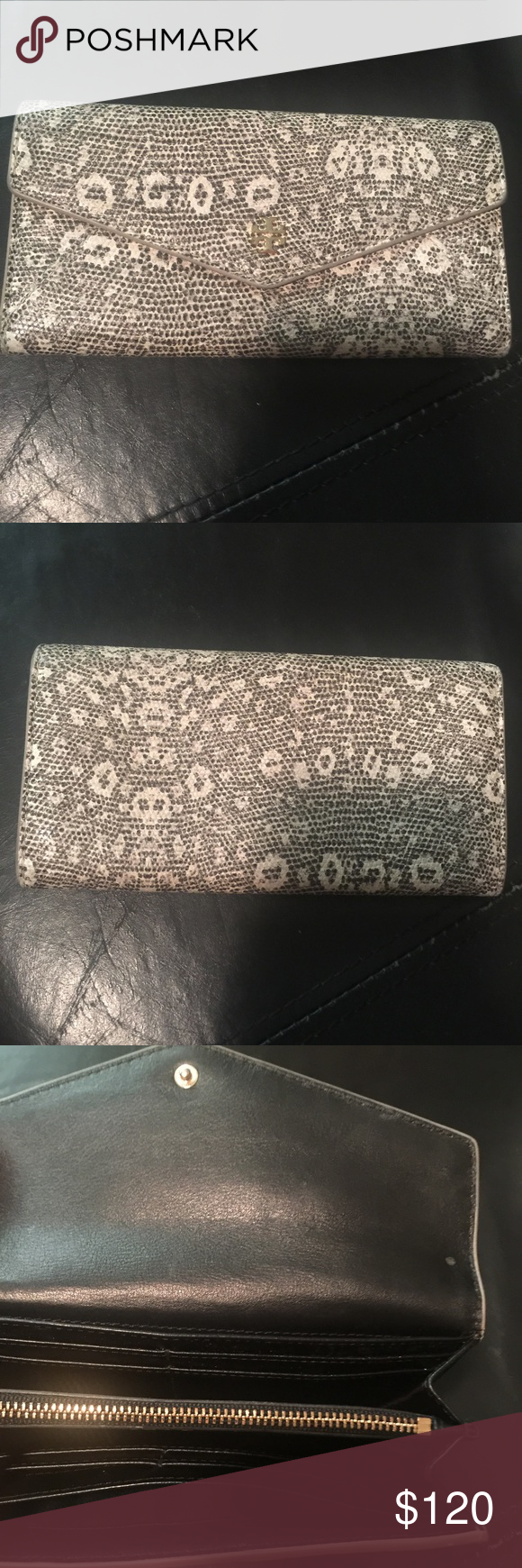 Wallet Tory Burch wallet only used once Tory Burch Bags Wallets