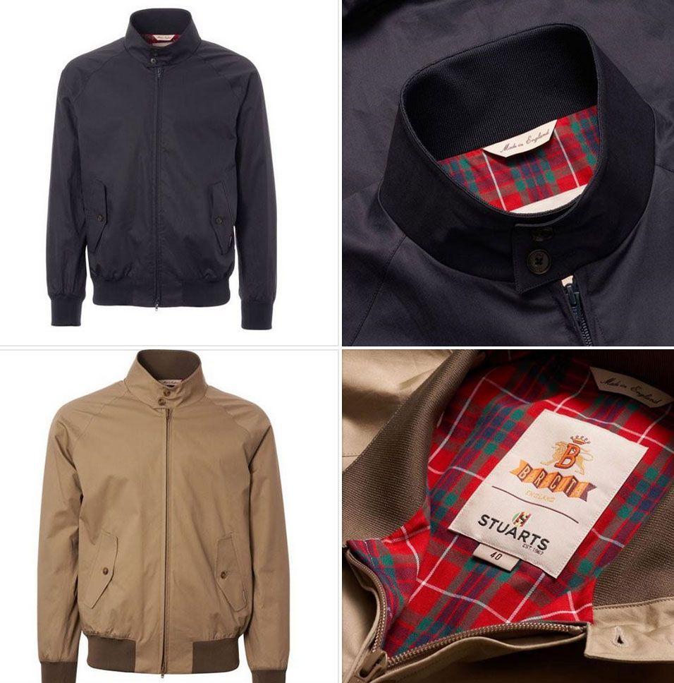 Sale watch: Baracuta Archive Fit G9 Harrington Jacket His