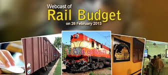 Rail Budget 2013-14 to be presented today 26-Feb JUST VISIT FOR LATEST UPDATES ON RAIL BUDGET http://lnkd.in/9vhkAz