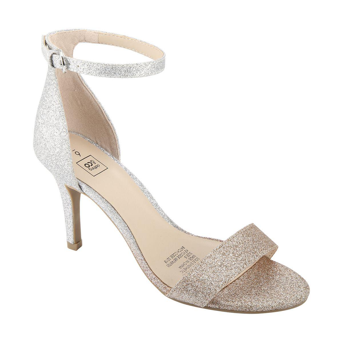 be527057164 Ombre Glitter Cupback Heels