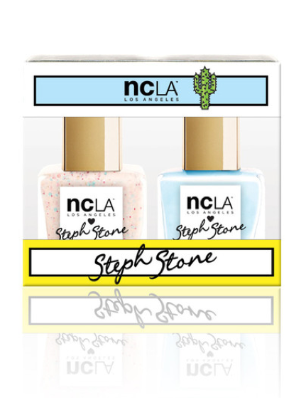 Steph Stone Nail Laquer Duo Nail Polish http://shop.nylon.com/collections/whats-new/products/steph-stone-nail-laquer-duo-nail-polish #nylonshop
