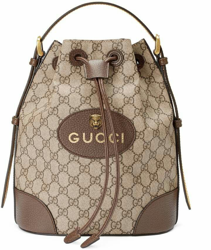 7616c6944e6 GG Supreme Backpack by Gucci ♥  bags  backpacks  gucci  style  fashion   shopstyle  mystyle