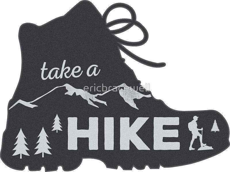 Hiking gear Hiking sticker Hike Hiker Hiking Backpacking Car bumper sticker Fun Hiking decal Hiking vinyl graphic car window decal