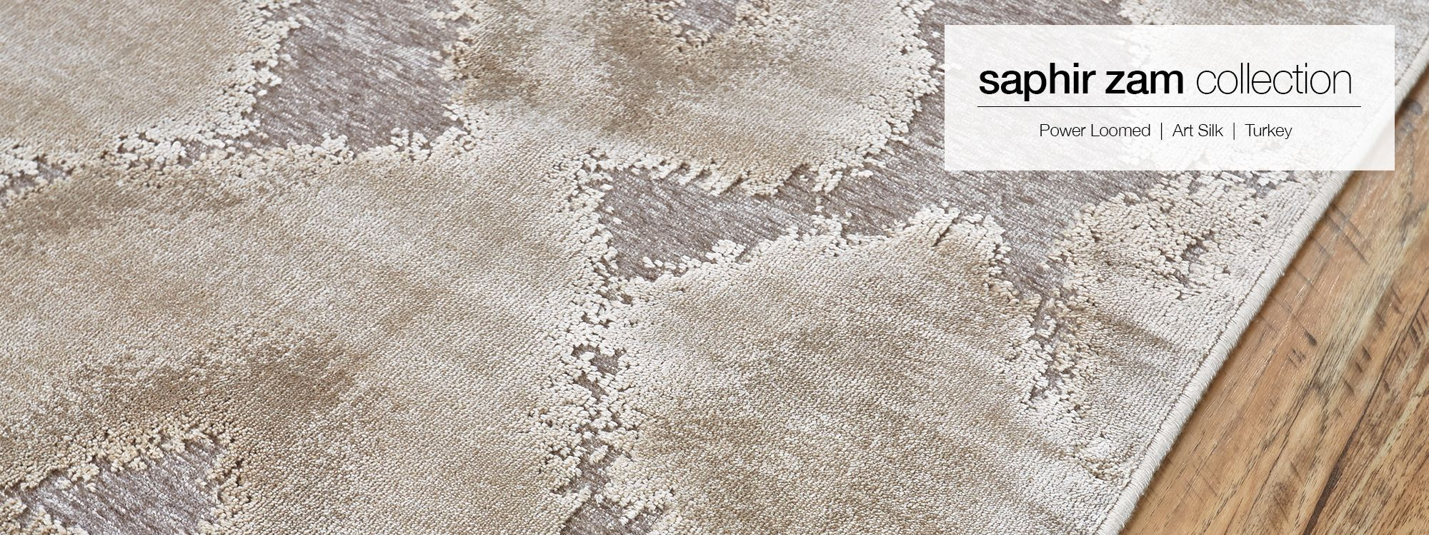 Saphir Zam Collection By Feizy Soothing Earth Tones Lend An Ethereal Feel To The
