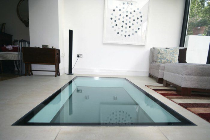Transformez votre maison avec le plancher en verre! Wine storage