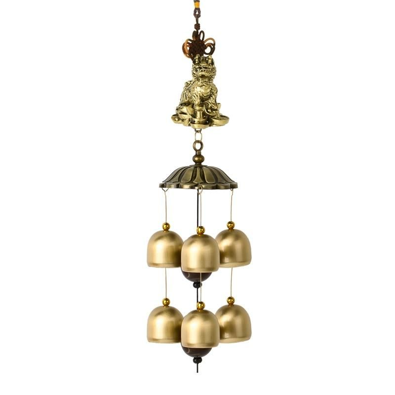 Wind Chime Feng Shui Decor Decoration Ornament Traditional Large Tubes New