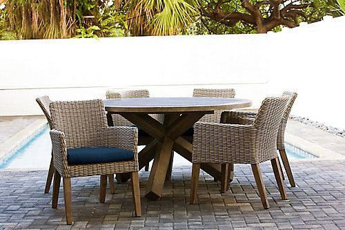 42++ Wicker and wood patio dining set Trend