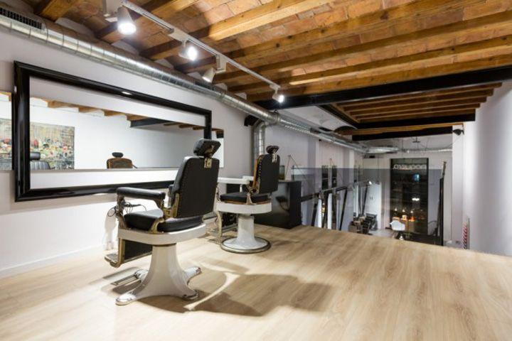 Noguera salon de coiffure par CM2 Disseny, Barcelone