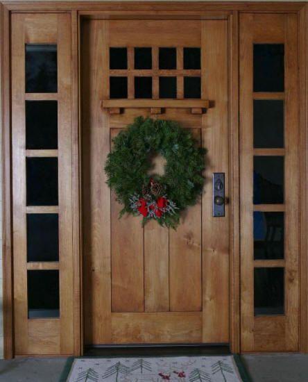 Pictures Of Western Style Front Doors Western Maple Arts - Shaker front door