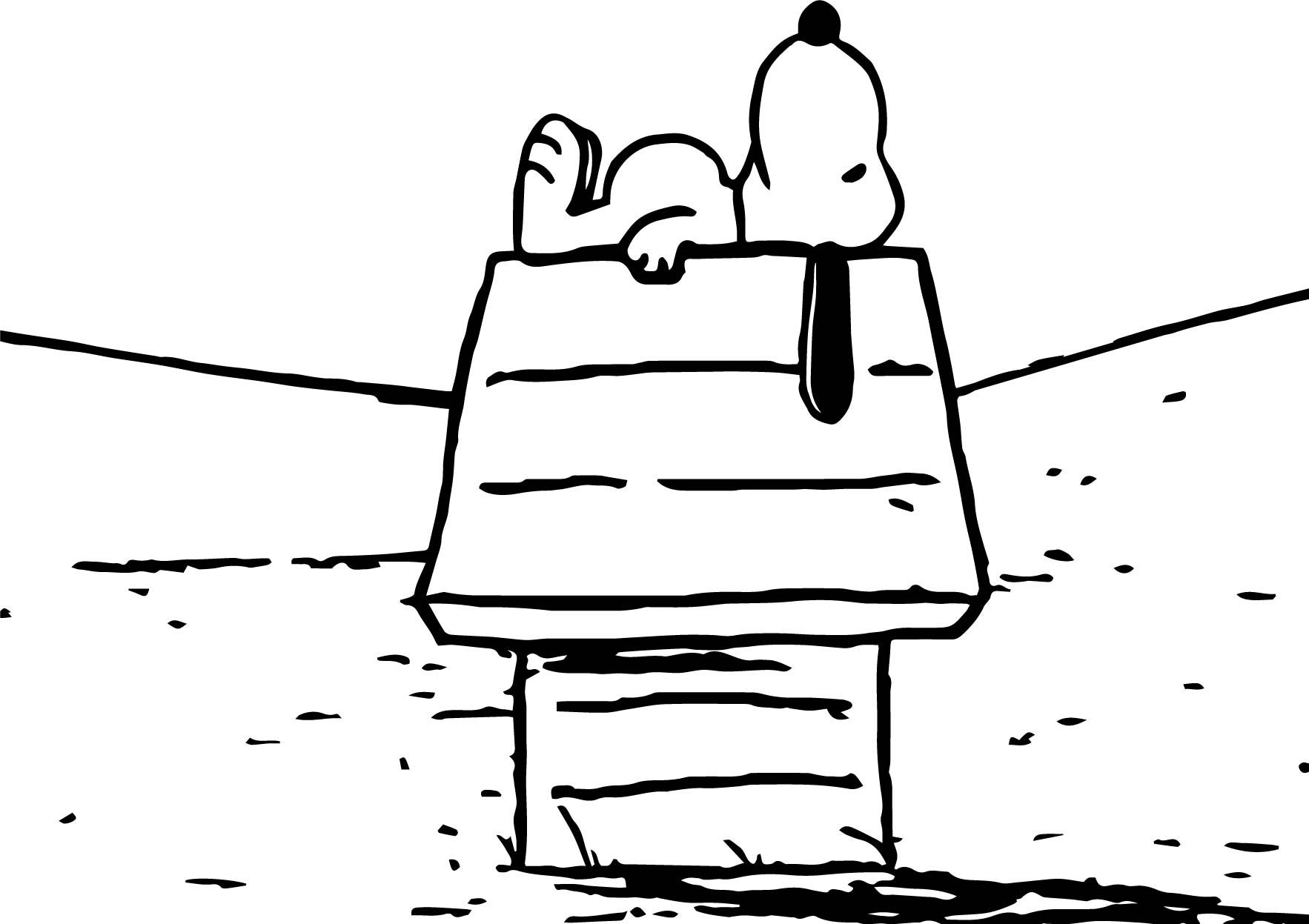 nice Snoopy Look Sky Coloring Page | wecoloringpage | Pinterest | Snoopy